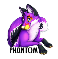Phantom Badge by Silvixen