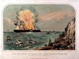 Great Eastern explosion by 121199
