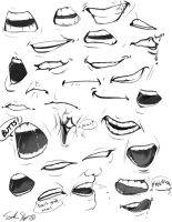 Mouths by Rynnay