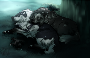 Theyre Just Sleeping by Hlaorith