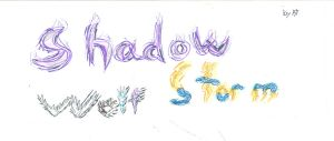 ShadowStormWolf : LOGO by argan99