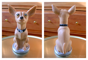 Taco Bell Chihuahua Figure by The-Toy-Chest