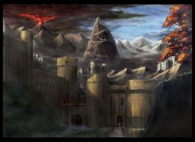 Fort town by PenName-Kazeno