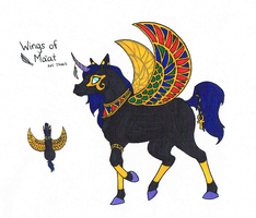 HARPG: Wings of Ma'at by Dragonheart-Stables