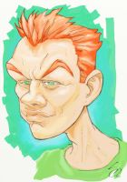 Redheaded Bully Boy by scamble