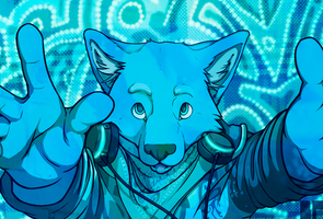 Blue Shift by Blue-Paper