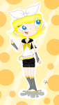 Marie Kagamine :3 by rossy514