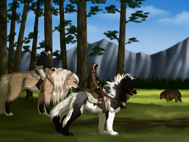 Rite of the Hunt - Naja and Bonny by Opium5
