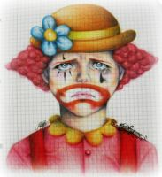 Sad Clown by maga-a7x