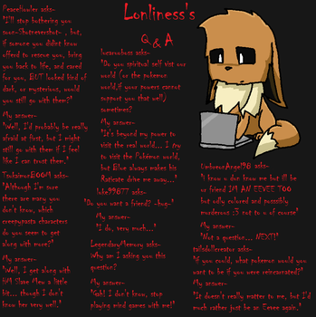 Lonliness's Q and A Page 10 by lonlinessplz