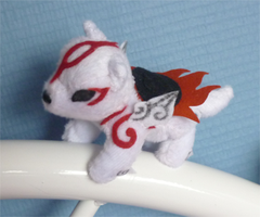 Mini magnet plush: more Okami by goiku
