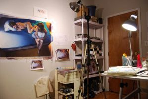 My Studio by reubennegron