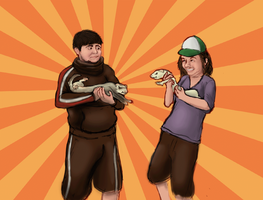 Game Grumps: Ferret Dance Party!!! by TayFerret
