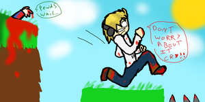 Pewdie: Bloody TrapLand by skiddlezzz