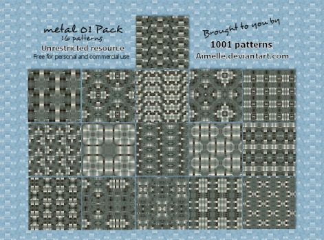 metal 01 PATTERNS unrestricted by Aimelle