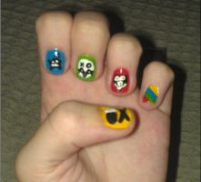 Danger Days nails! by BreezepeltGirl