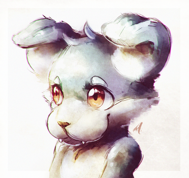 Paint Puppy by HalcyonMoufette