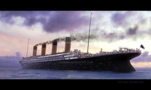 Titanic - Inte The Sunset by 0xris0