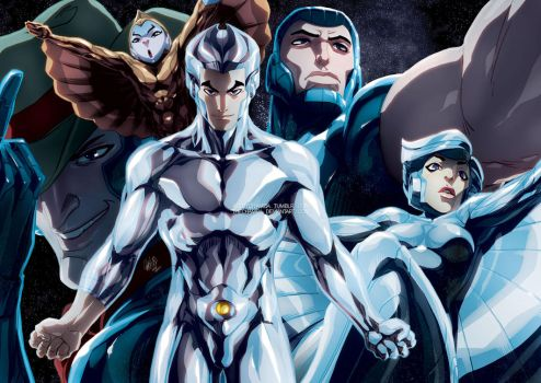 SILVERHAWKS by theCHAMBA