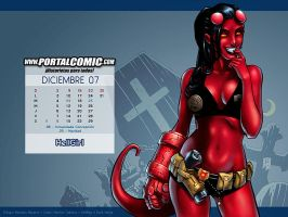 HellGirl by PortalComic