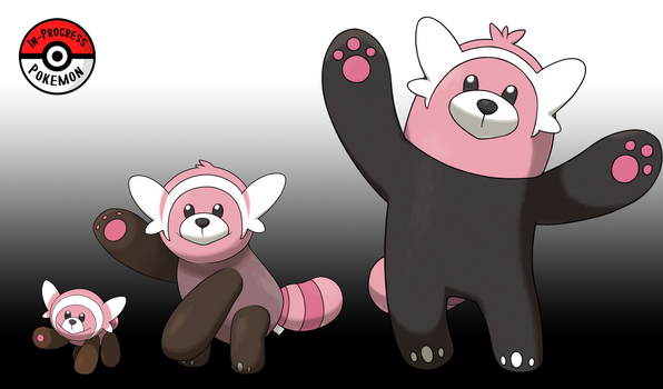 759 - 760 Stufful Line by InProgressPokemon