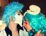 Grimmjow kisses Nel by IGrayI