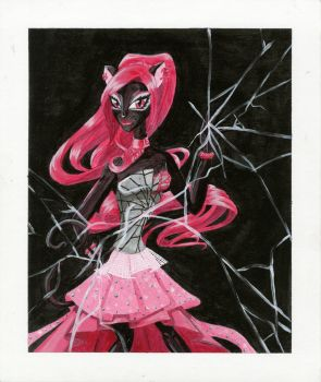Monster High Catty Noir by ladydevilman