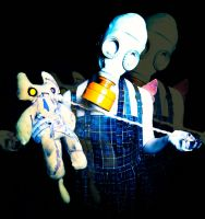 The Mad Scientist: Deranged Critter and ZomKittehs by livetoletlive