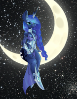 Princess Luna by Abi2sweet