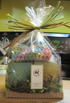Gift set for Handcrafted Soap by tinkerheck