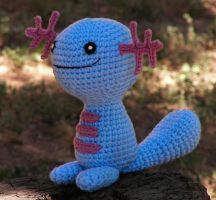 Wooper Plush by W0IfDreamer