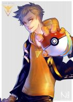 Spark - Team Instinct by Nesallienna