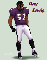Ray Lewis: IT'S A MANS GAME! by DJCoulz