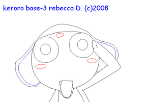 keroro base 3 by MuffinNinjaFairy