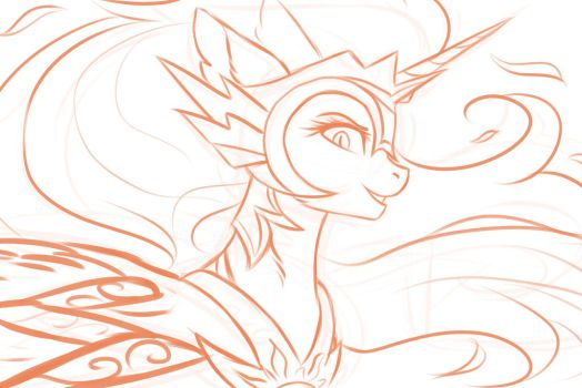 Daybreaker WIP by nightskrill
