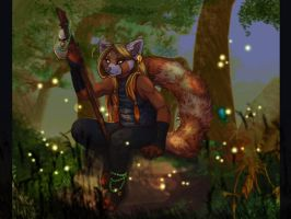 Topaz Night - Pandaren by frisket17