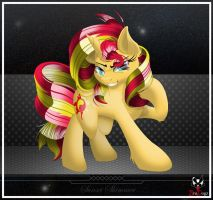 Comm: Sunset Shimmer - Perfection by BroDogz