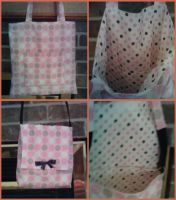 Friend's Tote n Messenger Bag by Good-Anime