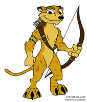 Hunter the Cheetah by OldSpyroClub
