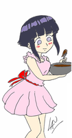 Hinata makes chocolate 2 by kuki4982