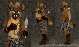 Junip Hyena by jillcostumes