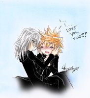 KH: I love you by RoXas-1988