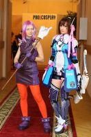 Star Ocean 4 - Welch and Reimi by Narga-Lifestream
