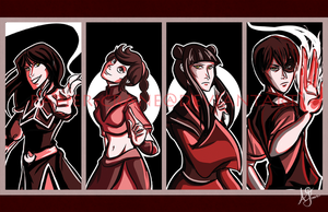 Fire Nation by papier-crane