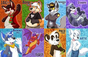 MFF room badges by pandapaco