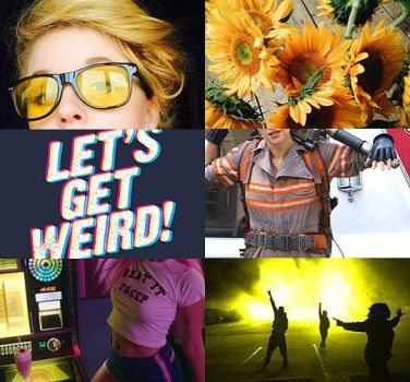 Jillian Holtzmann aesthetic by sweggsy