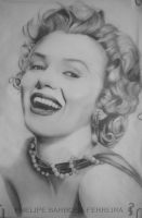 Marilyn Monroe by phelipebf