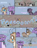 PKMN Pigeons PIGEONSEVERYWHERE by Nire-chan
