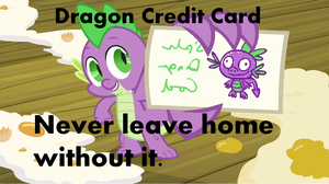 Dragon Credit Card by KnightBrony3