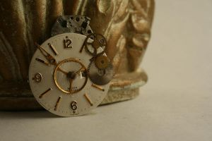 Reconstructed Watch Pin III by GomoDucky